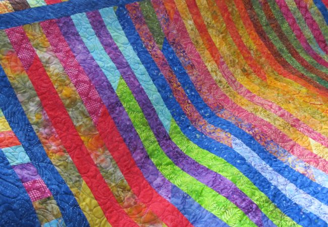 feathers n flowers quilt