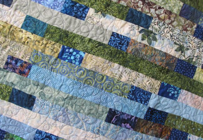 Leaf Pano 013KDO Quilt Piecing